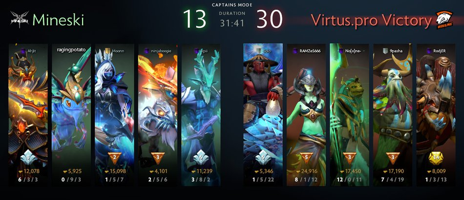 VP vs Mineski Game 2 MDL