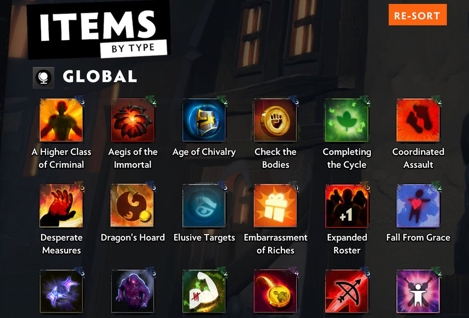 Underlords Global Items