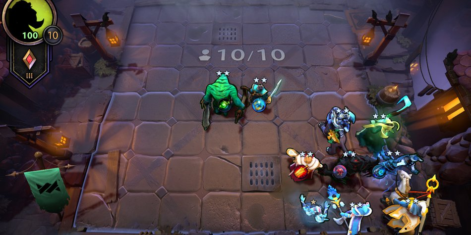 Late Game Underlords Positioning