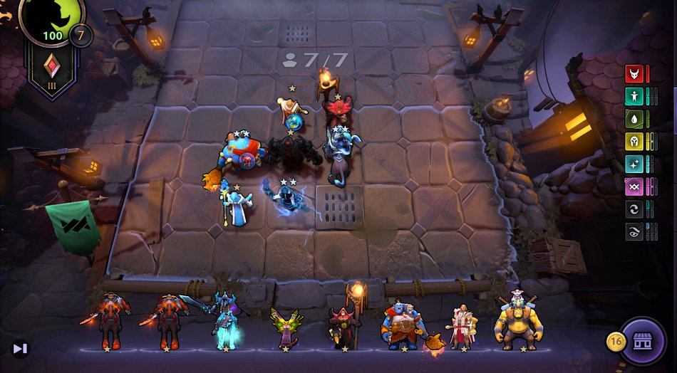 Mid Game Positioning Underlords