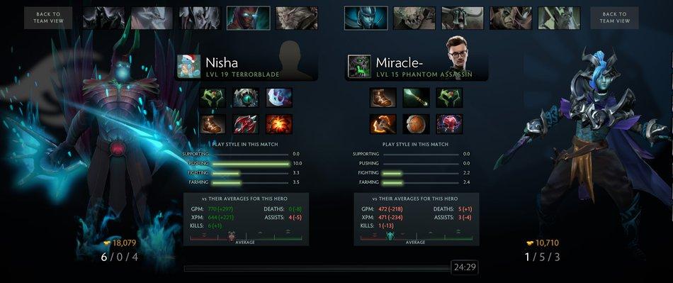 Miracle vs Nisha DLM