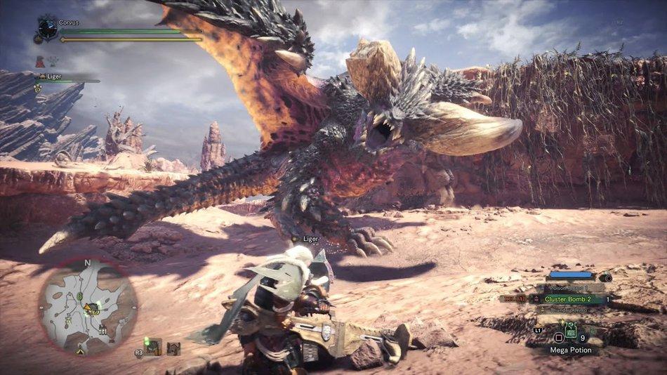 Monster Hunter Best Fantasy Video Game