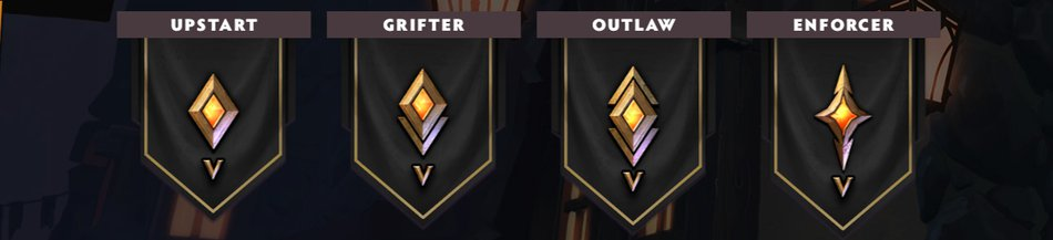 Ranks Beginner Underlords