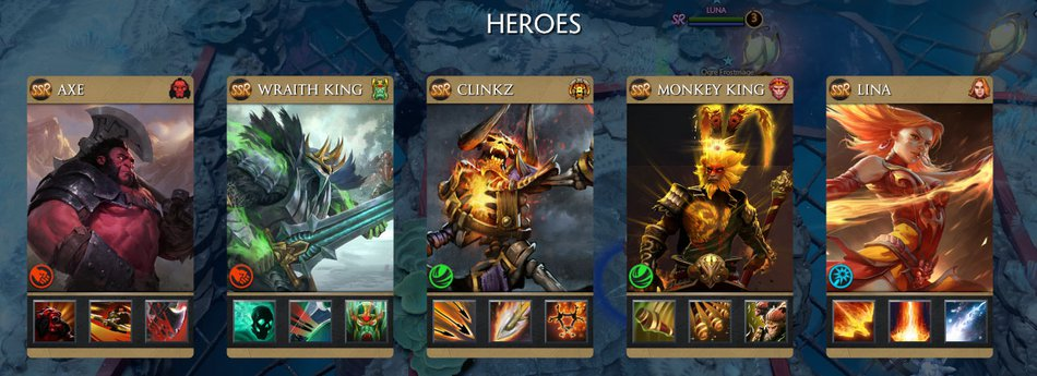SSR Heroes Samsara