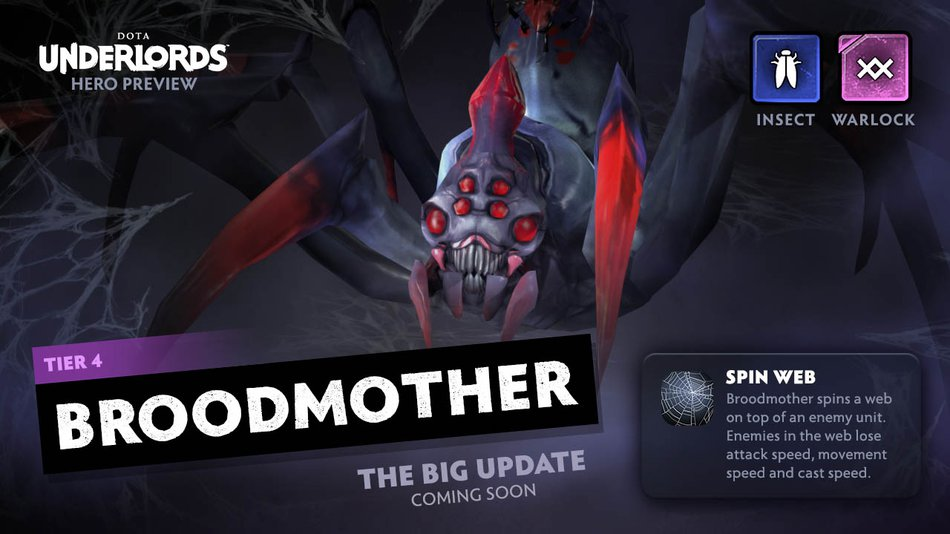 Underlords Broodmother