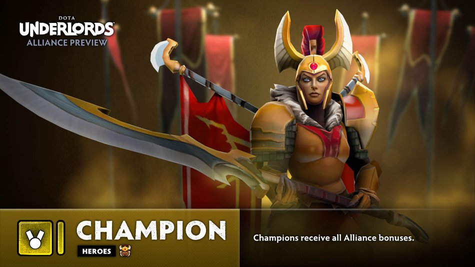 Underlords Champion Alliance