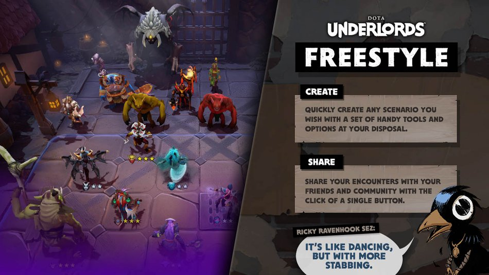 Underlords Freestyle Mode