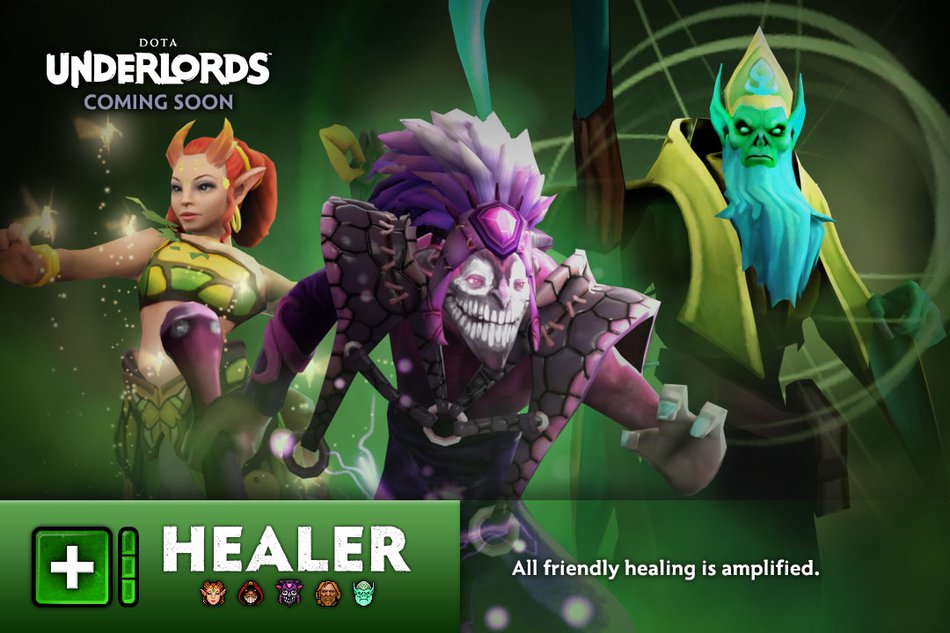 Underlords Healer Alliance
