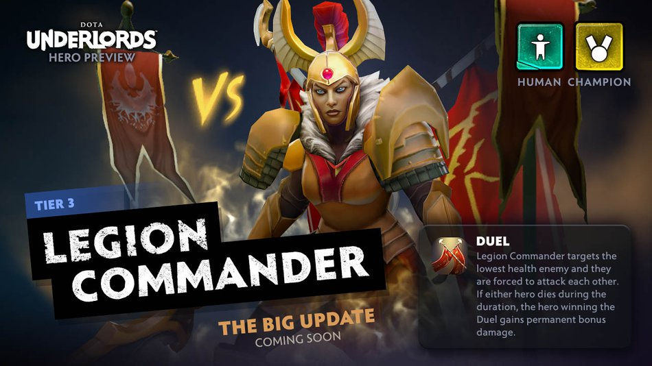 Underlords Legion Commander