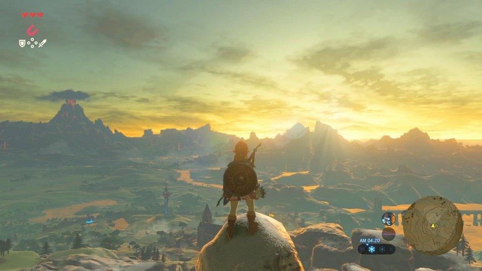 Zelda BOTW Best Fantasy Video Game