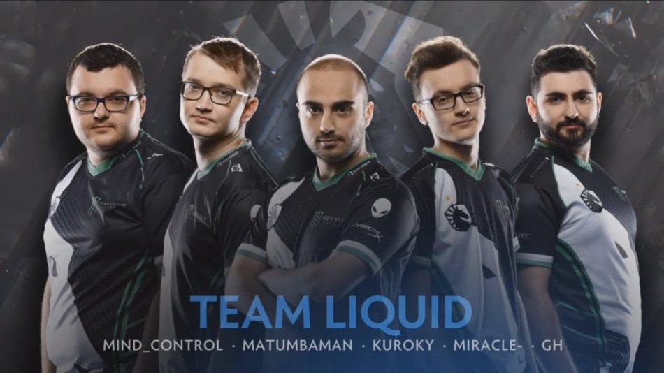 Liquid ti8 lineup